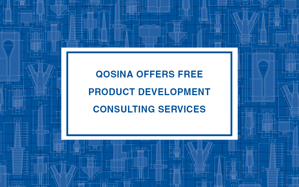 Qosina offers free product development consulting services for Product development consulting