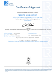 iso certification i iso 9001 certification qosina