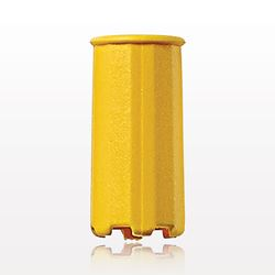 Vented Dust Cap, Yellow - 11331