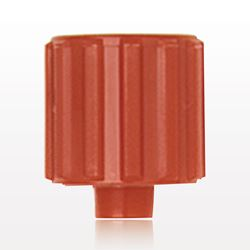 Vented Male Luer Cap, Red - 11637