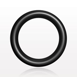 O-Ring, Black, AS-011 - 13035