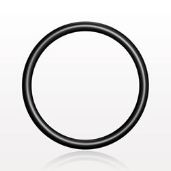 O-Ring, Black, AS-017 - 13040