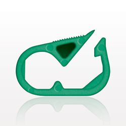 Pinch Clamp, Green - 13619