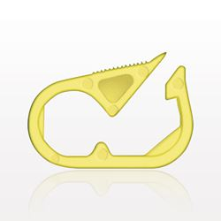 Pinch Clamp, Yellow - 13620