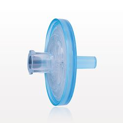 Hydrophilic Filter with Female Luer Lock Inlet, Male Luer Slip Outlet, Blue and Clear - 28217