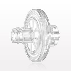 Hydrophobic Filter, Female Luer Lock Inlet, Male Luer Lock Outlet, Clear - 28300