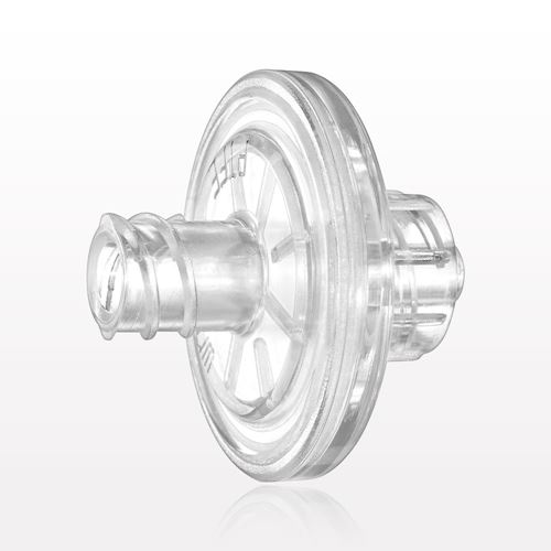 Hydrophilic Filter, Female Luer Lock Inlet, Male Luer Lock Outlet, Clear - 28301