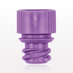 ENFit® Oral Adapter Cap, Non-Vented, Purple - 40014