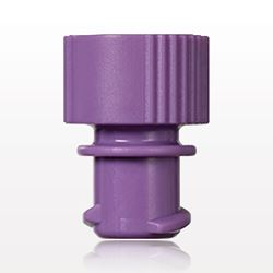 Female ENFit® Cap, Non-Vented, Purple - 40015