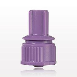 Male ENFit™ Connector, Purple - 40031