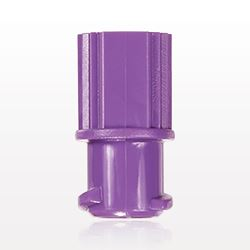 Female ENFit® Cap, Non-Vented, Purple - 40079