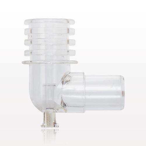 Clear Elbow/Gas Sampling Port - 51048