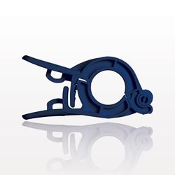 PharmaLok™ Non-Reopening Clamp, Blue - 51637