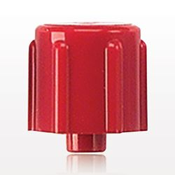 Vented Male Luer Cap, Red - 65287