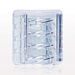 Non-Vented Luer Thread Cover, No-Stem, Clear - 65371