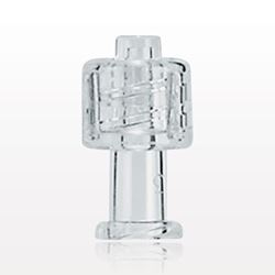 Vented Universal Luer Lock Cap, Clear - 65813
