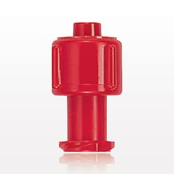 Vented Universal Luer Lock Cap, Red - 65815