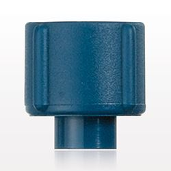 Tuohy Borst Adapter Cap, Blue - 80418