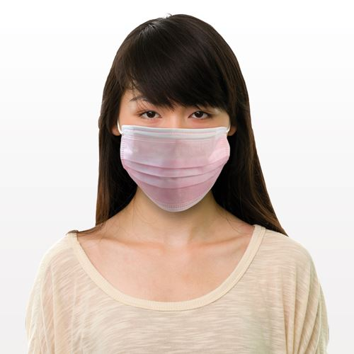 Ear Loop Mask, Pink - 90606