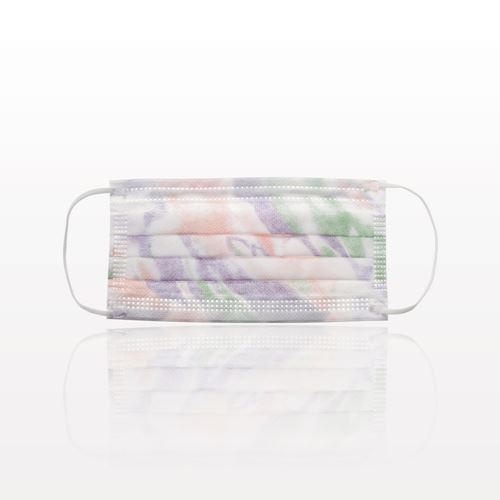 Sensitive Ear Loop Mask, Extra High Filtration, Fluid Resistant; Breathable, Latex and Fiber Glass Free, Multicolor - 90612