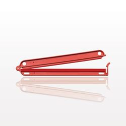 Closure Clamp, Red - 99914