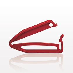 Closure Clamp, Red - 99918