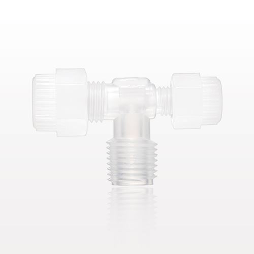 Furon® Grab Seal™ Compression Fitting, Male Branch T Reducer - IMP866MBTR