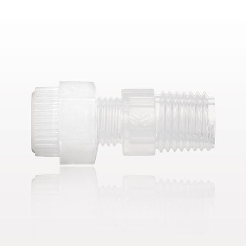 Furon® Grab Seal™ Compression Fitting, Male Union - IMP22UAM