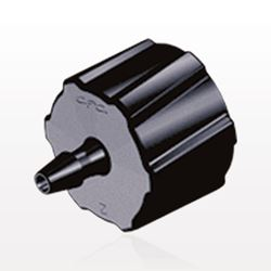 Male Luer Lock to Barb, Black - LM2131