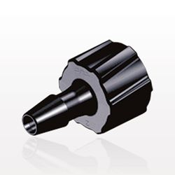 Male Luer Lock to Barb, Black - LM4131