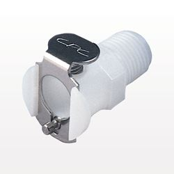 PMC Series Coupling Body, Shutoff Acetal In-Line Pipe Thread - PMCD1002