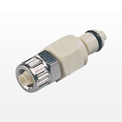 PMC12 Series Coupling Insert, Shutoff Polypropylene In-Line Ferruleless Polytube Fitting - PMCD200412
