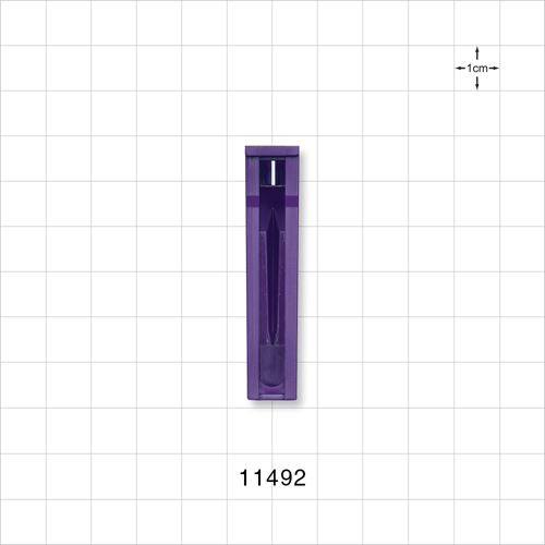 Roller Clamp Body, Purple - 11492