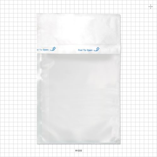 Poly Pouch with Breathable Tyvek Header ETO and Gamma Sterilizable, Clear - 91222