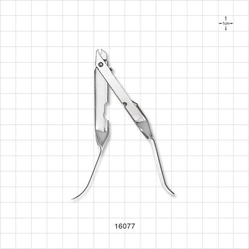 Single-Use Skin Staple Remover, Mirror Finish - 16077