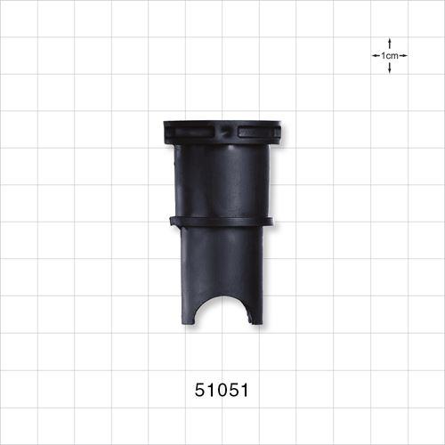 Bag Bushing, Black - 51051