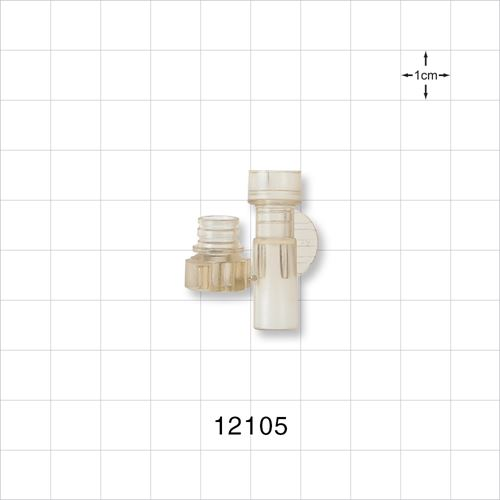 Bag Port, Twist Off Cap - 12105