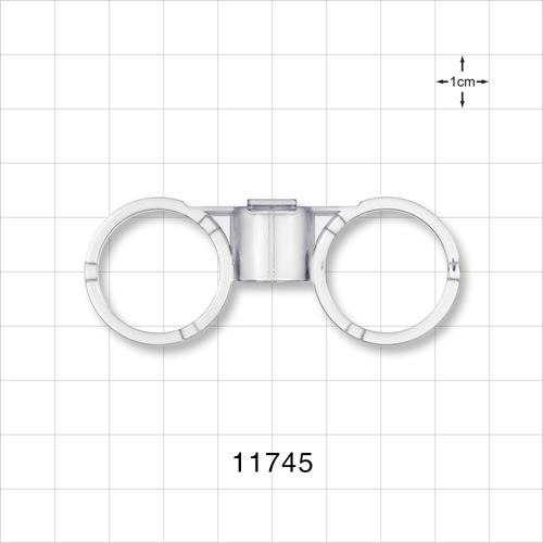 Syringe Rings, Clear - 11745