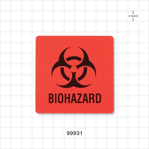 Biohazard Label - 99931