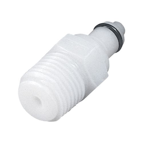 PMC Series Coupling Insert, Straight Thru Acetal In-Line Pipe Thread - PMC2402