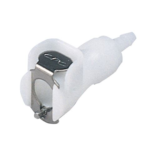 PMC Series Coupling Body, Straight Thru Acetal In-Line Hose Barb - PMC1704