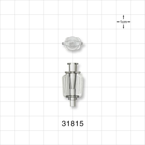 Needle Hub with Wings and Female Luer Lock - 31815