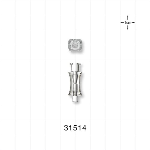 Needle Hub, Anatomic with Female Luer Lock - 31514