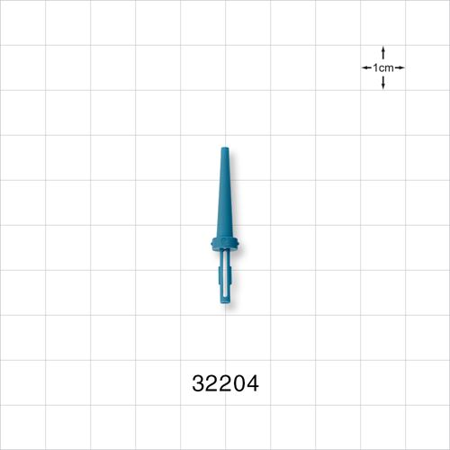 Guide Wire J Straightener, Blue - 32204