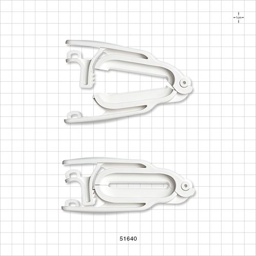 PharmaLok™ Tube Clamp, White - 51640