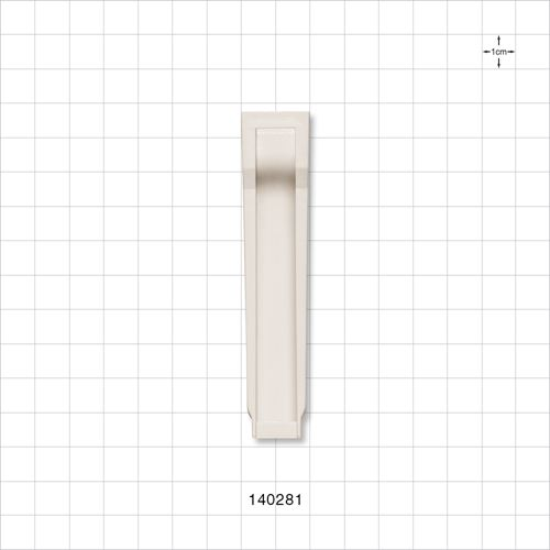 Roller Clamp Body, White - 140281