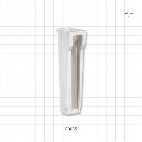 Roller Clamp Body, White - 33035