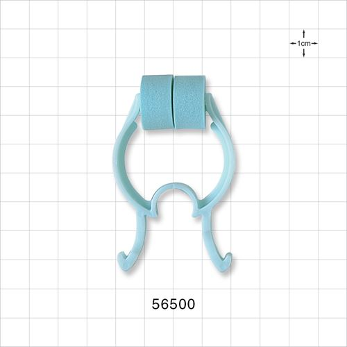 Padded Nose Clip, Blue - 56500