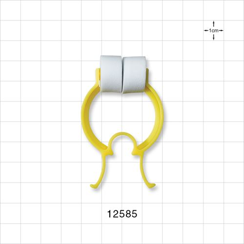 Padded Nose Clip, Yellow - 12585