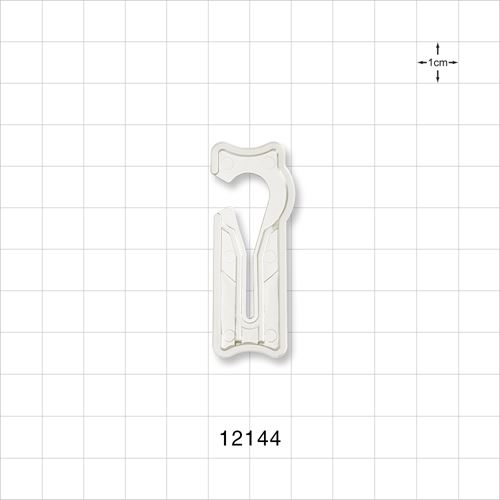 Open Jaw Slide Clamp, Clear - 12144